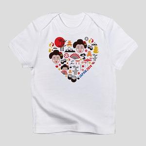 Japan World Cup 2014 Heart Infant T-Shirt