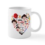 Japan World Cup 2014 Heart Mug