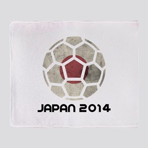 Japan World Cup 2014 Throw Blanket