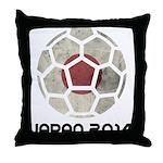 Japan World Cup 2014 Throw Pillow