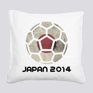 Japan World Cup 2014 Square Canvas Pillow