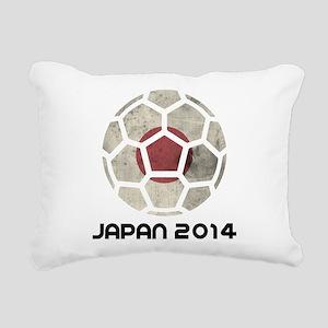 Japan World Cup 2014 Rectangular Canvas Pillow