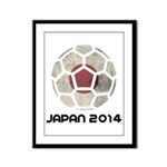 Japan World Cup 2014 Framed Panel Print