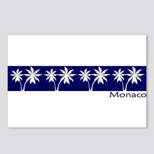 Monaco Navy Palms Postcards (Package of 8)