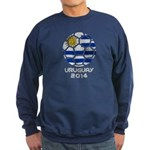 Uruguay World Cup 2014 Sweatshirt (dark)