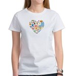 Uruguay World Cup 2014 Heart Women's T-Shirt