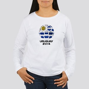 Uruguay World Cup 2014 Women's Long Sleeve T-Shirt