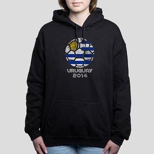 Uruguay World Cup 2014 Women's Hooded Sweatshirt