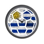 Uruguay World Cup 2014 Wall Clock