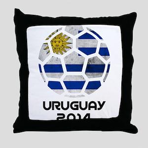Uruguay World Cup 2014 Throw Pillow