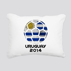 Uruguay World Cup 2014 Rectangular Canvas Pillow