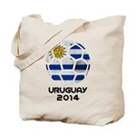 Uruguay World Cup 2014 Tote Bag