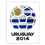 Uruguay World Cup 2014 Small Poster