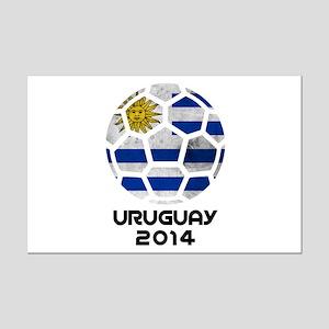 Uruguay World Cup 2014 Mini Poster Print