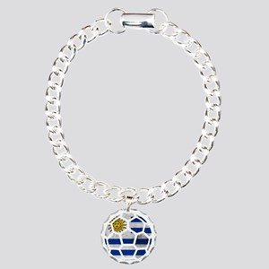 Uruguay World Cup 2014 Charm Bracelet, One Charm
