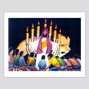 Jesus, The Lion Of Tribe Judah Small Poster