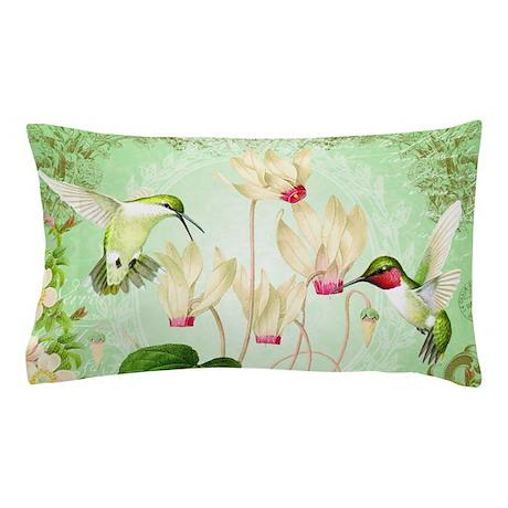 Superieur Modern Vintage French Hummingbirds Pillow Case