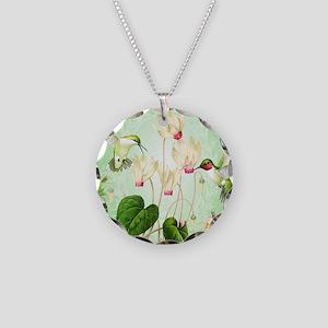 Modern Vintage French Hummingbirds Necklace
