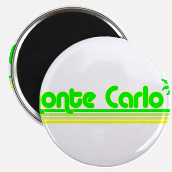 Monte Carlo Green Palm Magnet