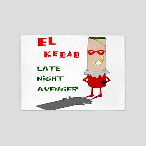 El Kebab - Late Night Avenger 5'x7'Area Rug