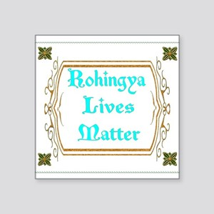 Rohingya Lives Matter tee Sticker