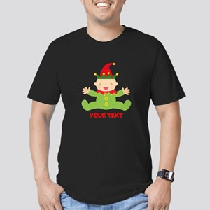 Elf Christmas Men's Fitted T-Shirt (dark)