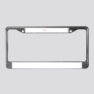 Monte Carlo Flag II (Dark) License Plate Frame