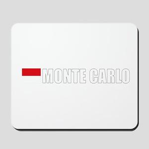 Monte Carlo Flag II (Dark) Mousepad