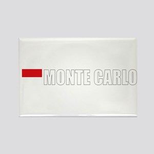 Monte Carlo Flag II (Dark) Rectangle Magnet