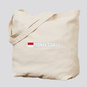 Monte Carlo Flag II (Dark) Tote Bag