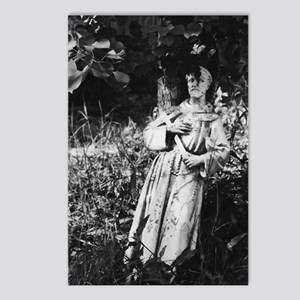 St. Francis (bw photography) Postcards (Package of