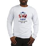 Costa Rica World Cup 2014 Long Sleeve T-Shirt