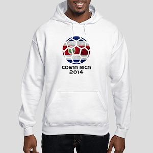 Costa Rica World Cup 2014 Hooded Sweatshirt
