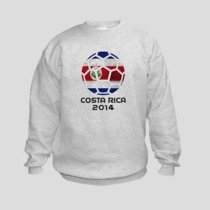 Costa Rica World Cup 2014 Kids Sweatshirt