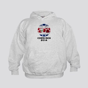 Costa Rica World Cup 2014 Kids Hoodie