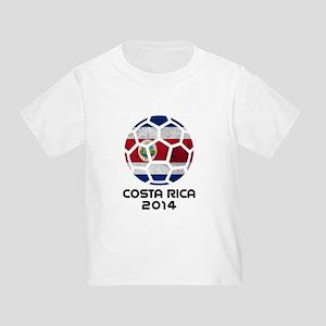 Costa Rica World Cup 2014 Toddler T-Shirt