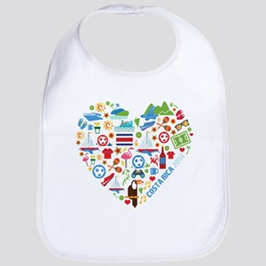 Costa Rica World Cup 2014 Heart Bib