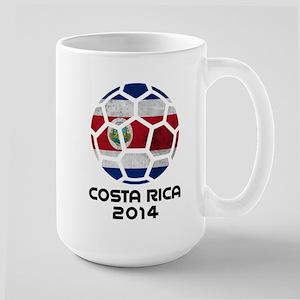 Costa Rica World Cup 2014 Large Mug