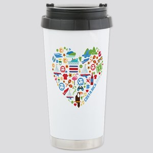 Costa Rica World Cup 20 Stainless Steel Travel Mug