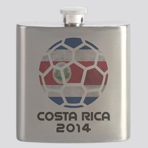Costa Rica World Cup 2014 Flask