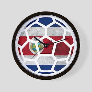 Costa Rica World Cup 2014 Wall Clock