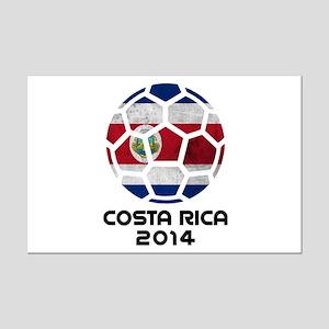 Costa Rica World Cup 2014 Mini Poster Print