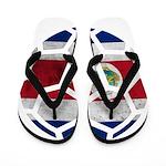 Costa Rica World Cup 2014 Flip Flops