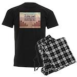 Build A Real Wall Men's Dark Pajamas