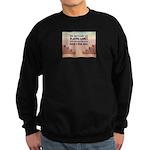 Build A Real Wall Sweatshirt (dark)