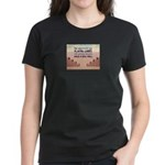 Build A Real Wall Women's Dark T-Shirt