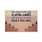 Build A Real Wall Rectangle Magnet (100 pack)