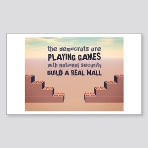 Build A Real Wall Sticker (Rectangle)