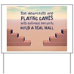 Build A Real Wall Yard Sign