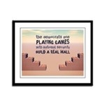 Build A Real Wall Framed Panel Print